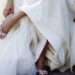What Color Shoes Goes Well With Ivory Wedding Dress?